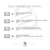 Buyer Persona Survey Campaign Email Workflow