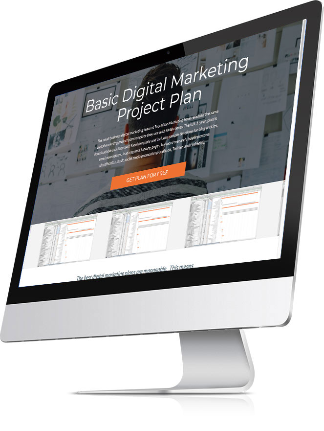 Basic Digital Marketing Project Plan